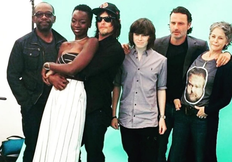 how to meet the cast of walking dead 2015
