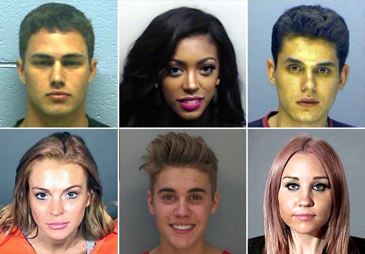 Hot Celebrity Mugshots