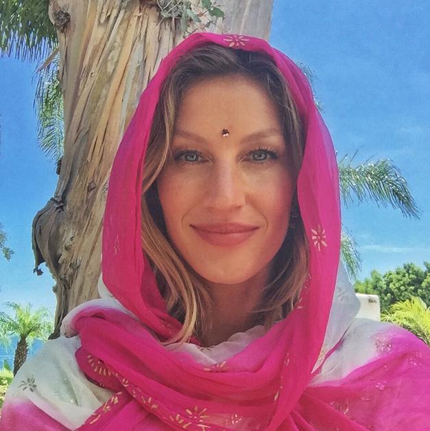 Gisele Bunchen Plastic Surgery -- Model Hides Face in ... Gisele Bundchen Instagram