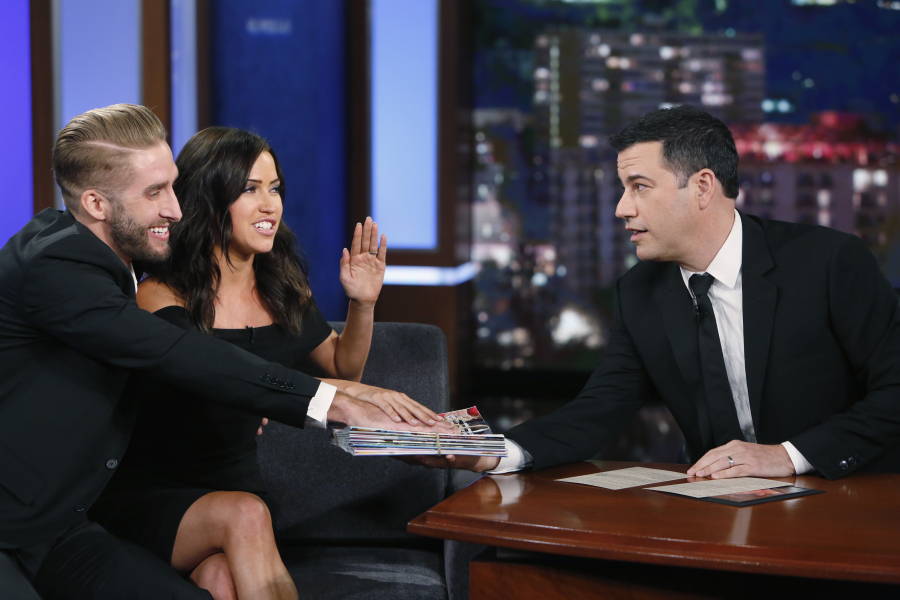 Kaitlyn And Shawn Chat It Up With Jimmy