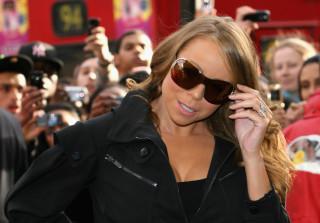 Mariah Carey Signs Copies Of New Single At Selfridges