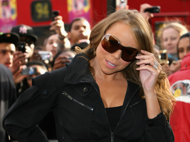 Mariah Carey Signs Copies Of New Single At Selfridges