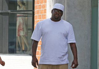 Bobby Browns Steps Out in Beverly Hills