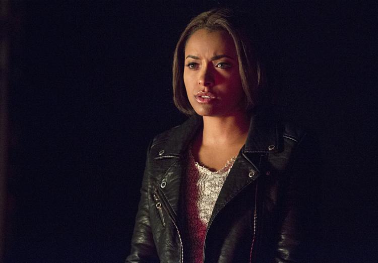 Kat Graham on The Vampire Diaries Season 7