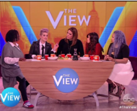 Kelly Osbourne and the Cast of The View
