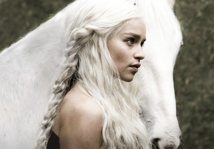 Emilia Clarke, Daenerys Targaryen, Game of Thrones
